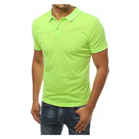 Men's lime green polo shirt PX0310 DStreet