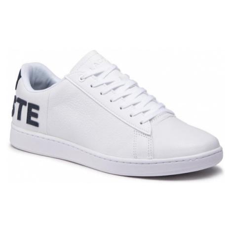 Lacoste Sneakersy Carnaby Evo 120 7 Us Sma 7-39SMA0052042 Biały