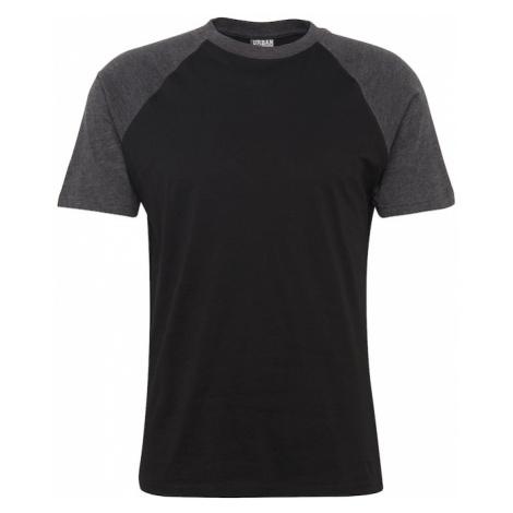 Urban Classics Koszulka czarny / ciemnoszary