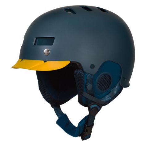 Kask narciarski / snowboardowy z regulacją | Niebieski Brainsaver Petroleum Woox