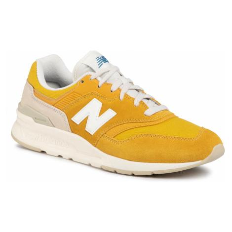 Sneakersy NEW BALANCE - CM997HBR Żółty