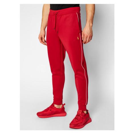 Polo Ralph Lauren Spodnie dresowe Lunar New Year 710828373001 Czerwony Regular Fit