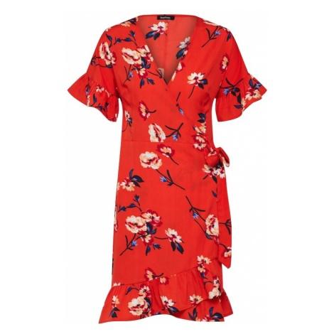 Boohoo Letnia sukienka mieszane kolory / czerwony