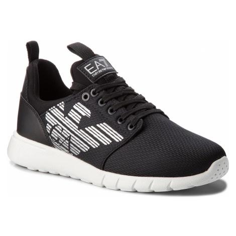 Sneakersy EA7 EMPORIO ARMANI - X8X007 XCC02 00002 Black