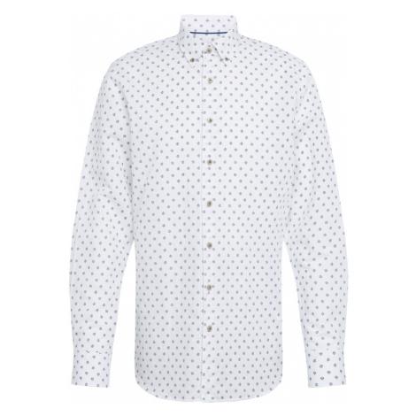 Bugatti Koszula granatowy / biały