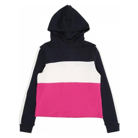NAME IT Bluzka sportowa ciemny niebieski / biały / różowy