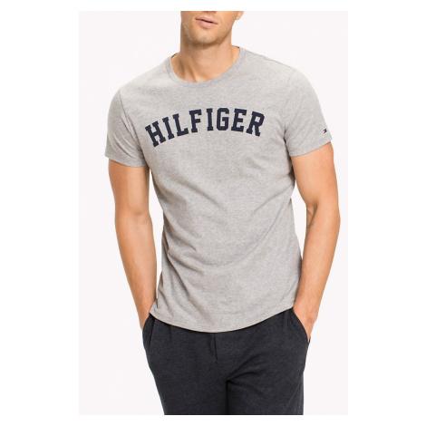 Tommy Hilfiger szara koszulka męska SS Tee Logo