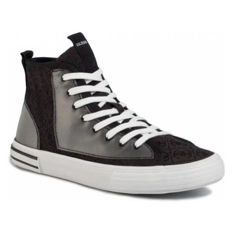 Guess Sneakersy Nettuno Hi FM6NTH FAL12 Czarny