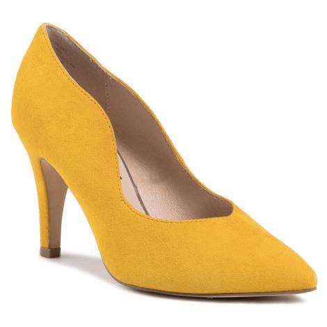 Szpilki CAPRICE - 9-22403-24 Yellow Suede 641
