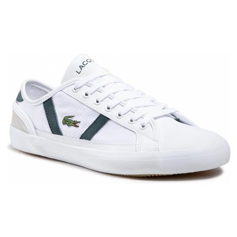 Sneakersy LACOSTE - Sideline 0721 1 Cma 7-41CMA00181R5 Wht/Dk Grn