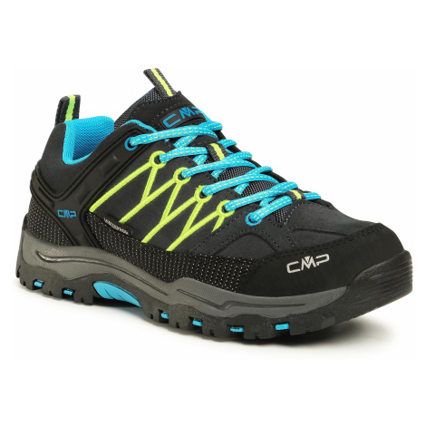 Trekkingi CMP - Rigel Low Trekking Shoes Wp 3Q13244J Antracite/Yellow Fluo 34UF