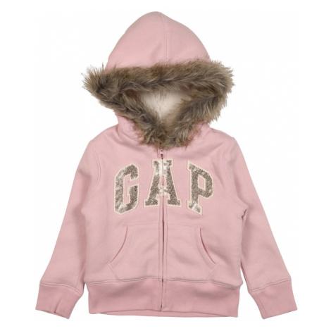 GAP Bluza rozpinana różowy / srebrny / brązowy