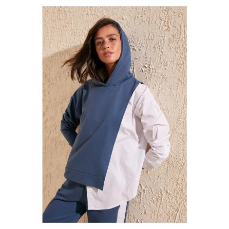 Damska bluza z kapturem Trendyol Basic