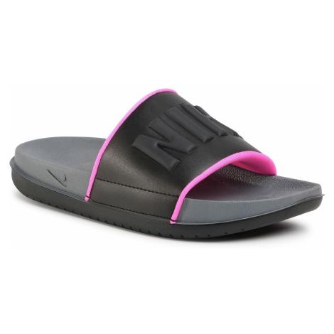 Klapki NIKE - Offcourt Slide BQ4632 004 Dark Grey/Black/Pink Blast