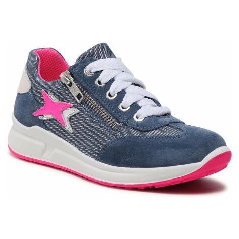 Sneakersy SUPERFIT - 1-006155-8000 S Blau/Rosa