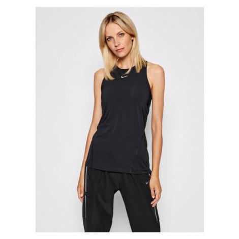 Nike Koszulka techniczna Pro AO9966 Czarny Slim Fit