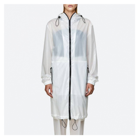 Płaszcz damski Rains Ultralight Parka 1844 SHADOW WHITE