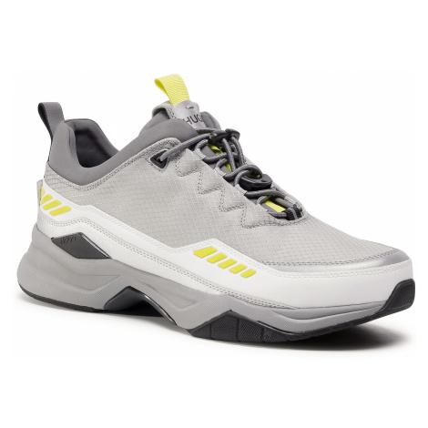 Sneakersy HUGO - Block 50433618 10227603 01 Open White 120 Hugo Boss