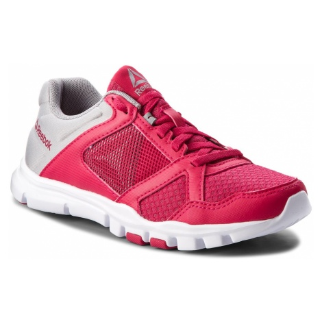 Buty Reebok - Yourflex Trainette 10 Mt CN5653 Rugged Rose/Tin Grey/Wht