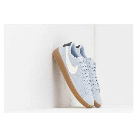 Nike W Blazer Low Sd Half Blue/ Sail-Oil Grey-Gum Light Brown
