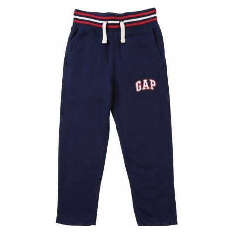 GAP Spodnie 'FT SLIM SWEATPANT' niebieski
