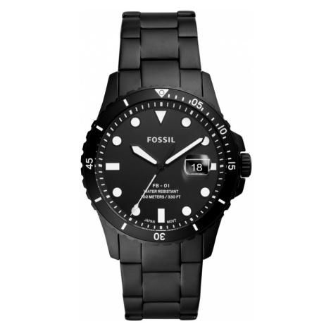 Zegarek FOSSIL - FB-01 FS5659 Black/Black