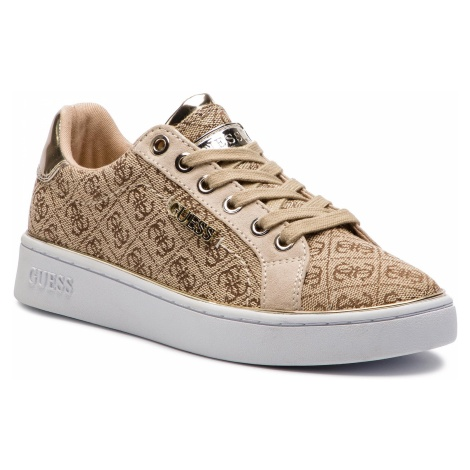 Sneakersy GUESS - Beckie2 FL5BC2 FAL12 BEIGE/BROWN