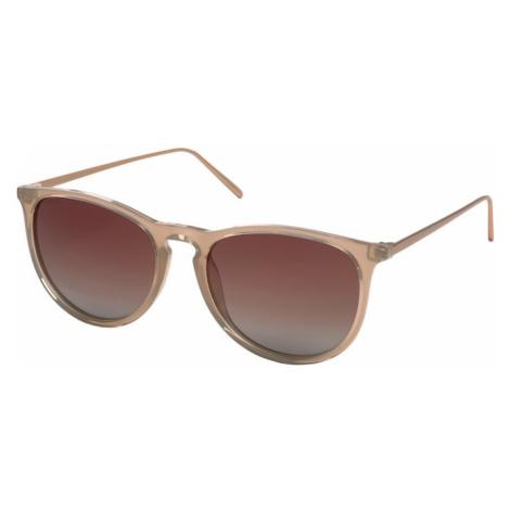 Pilgrim Okulary przeciwsłoneczne 'Vanille' beżowy