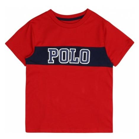 POLO RALPH LAUREN Koszulka niebieska noc / czerwony