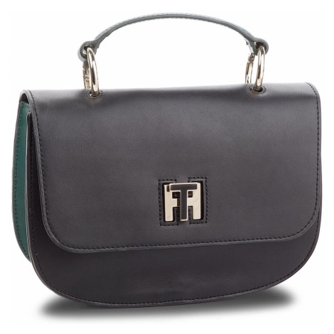 Torebka TOMMY HILFIGER - Th Twist Leather Med AW0AW05726 901