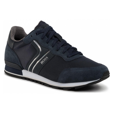Sneakersy BOSS - Parkour 50433661 10214574 01 Dark Blue 402 Hugo Boss
