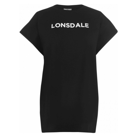 Lonsdale Long Line T Shirt Ladies