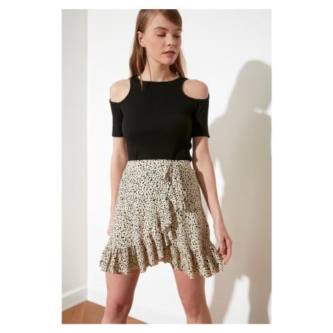 Spódnica damska Trendyol Leopard print