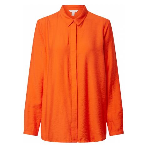 ESPRIT Bluzka pomarańczowo-czerwony