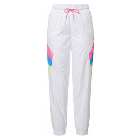 PUMA Spodnie różowy / niebieski / biały