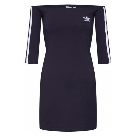 ADIDAS ORIGINALS Letnia sukienka 'SHOULDER DRESS' czarny