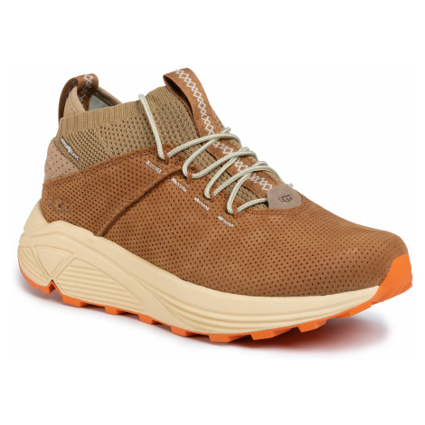 Sneakersy UGG - M Miwo Sport High Hyperweave 1108039 Oak