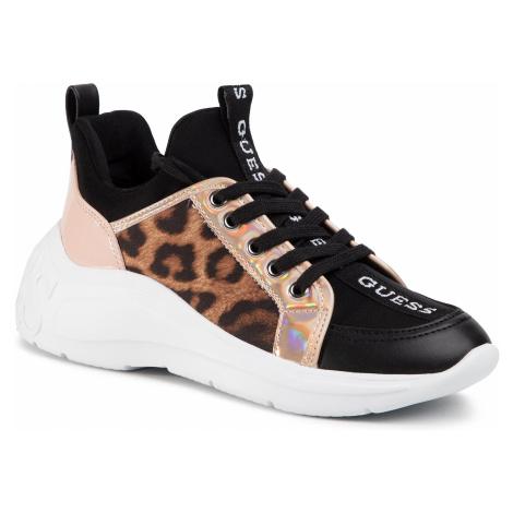 Sneakersy GUESS - Speerit FL6SPT FAL12 LEOPA