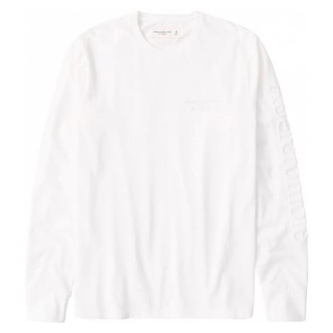 Abercrombie & Fitch Koszulka 'EMBOSSS' biały