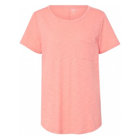 GAP Koszulka 'V-SS EASY SCOOP' różowy