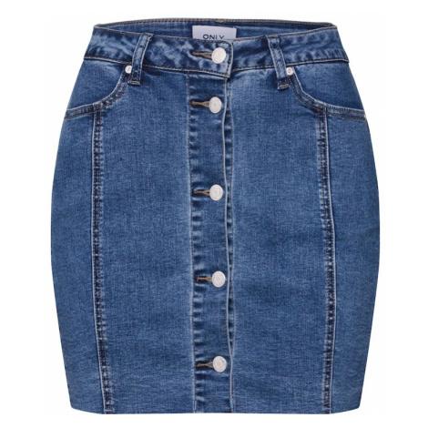 ONLY Spódnica niebieski denim