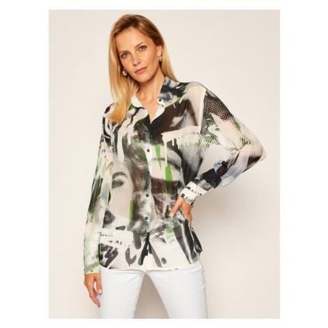 Guess Koszula Print Allover W0BH0D W70Q0 Kolorowy Oversize