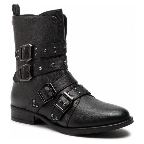 Botki STEVE MADDEN - Ivy Ankelboot SM11000074 Black Leather