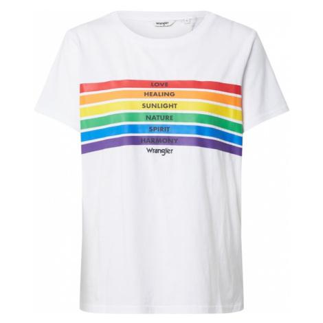 WRANGLER Koszulka 'Pride' biały