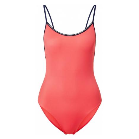 Tommy Hilfiger Underwear Strój kąpielowy 'ONE-PIECE' indygo / łososiowy