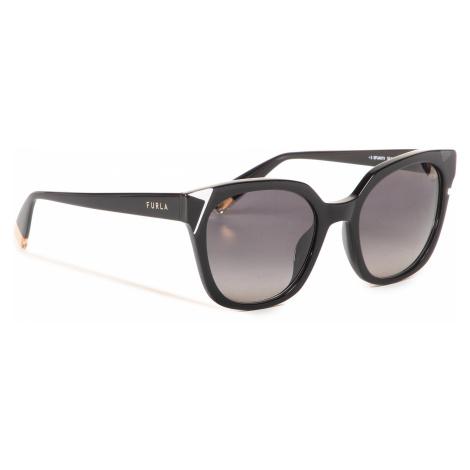 Okulary przeciwsłoneczne FURLA - SFU401 401FFS5-RCR000-O6000-4-401-20-CN-D Nero