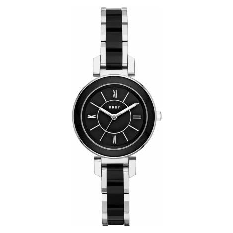 Zegarek DKNY - Ellington NY2590 Silver/Black/Black