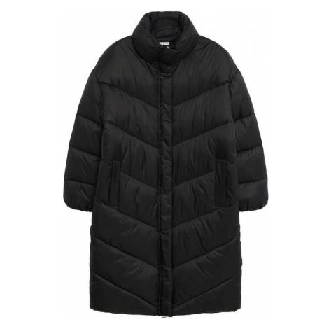 MANGO Płaszcz zimowy 'Kellogs' czarny