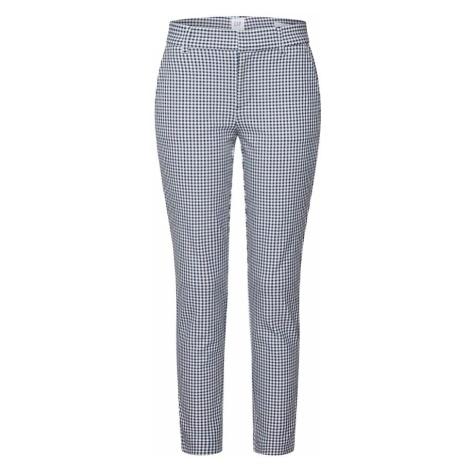 GAP Spodnie 'SKINNY ANKLE PLAID/STRIPE' niebieski