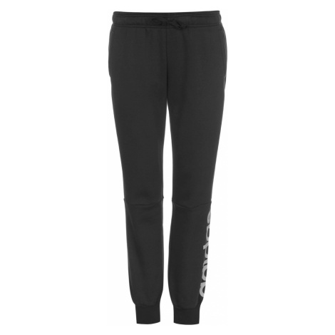 Adidas Linear Slim Fit Cotton Joggers Ladies